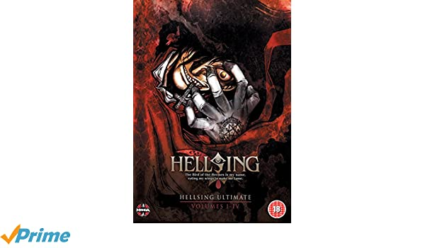 Hellsing Ultimate: Parts 1-4 Collection DVD Reino Unido ...