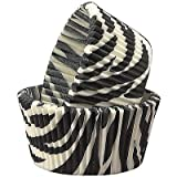 Zebra Print Muffin Liners Cupcake Baking Cups 1000ct