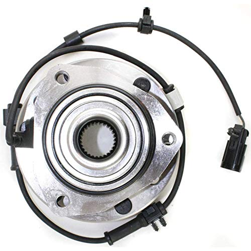 - Wheel Hub and Bearing For 2002-2009 Chevy Trailblazer Front Left or Right With ABS Sensor and Studs