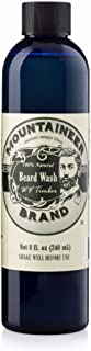 product image for Beard Wash by Mountaineer Brand (8oz) | WV Timber Scent (Cedarwood/Fir Needle) | Premium 100% Natural Beard Shampoo