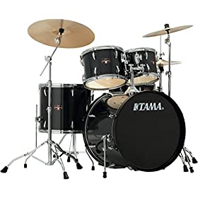 Tama Imperialstar 5-Piece Complete Kit with Meinl HCS Cymbals 2