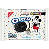 Take a delicious break with Oreo Mickey Mouse Chocolate Sandwich Cookies, a new twist on birthday cake Oreo cookies to celebrate the 90th anniversary of Mickey Mouse.