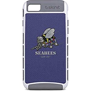 Skinit US Navy iPhone 7 Cargo Case - Seabees Can Do Design - Durable Double Layer Phone Cover by Skinit