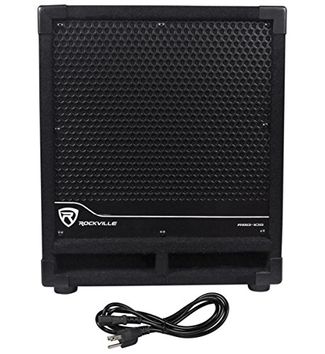 "New Rockville RBG10S Bass Gig 10"" 1200 Watt Active Powered P"