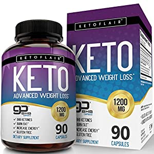 Premium Keto Diet Pills GoBHB 1200mg, 90 Capsules – Ultra Fast Pure Keto Boost Ketosis Supplement – Advanced Natural BHB Salts (beta hydroxybutyrate) Exogenous Ketones for Men and Women, Non-GMO