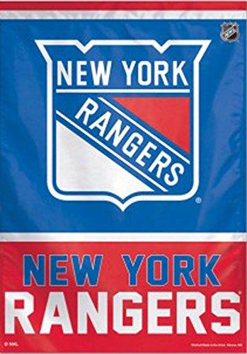 WinCraft New York Rangers NHL Vertical Flag 2 Sided 28″ X 40″