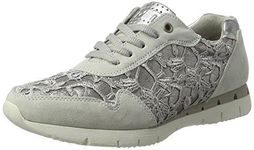 23741 Femme Tozzi Marco 248 Basses Sneakers Comb Gris grey lt xgfSSIwq