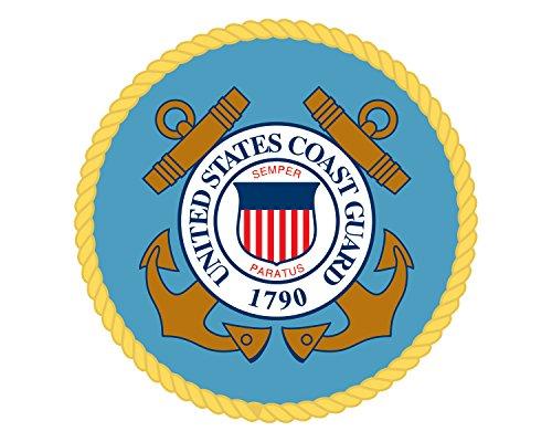 Morale Tags US Coast Guard Seal USCG Embelm Military Logo 5
