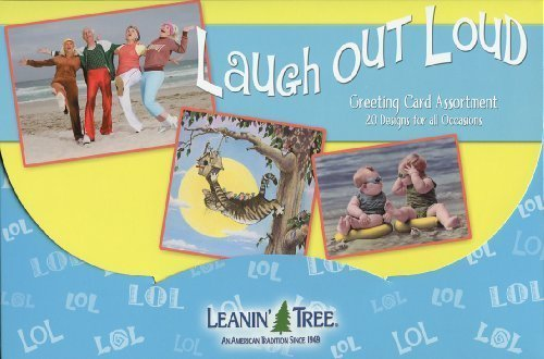 20 Assorted Greeting Cards (Laugh Out Loud [AST90722] Humorous Greeting Card Assortment by Leanin' Tree - 20 cards with full-color interiors and 22 designed envelopes)