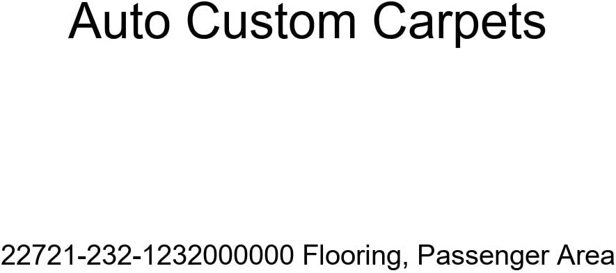 Passenger Area Auto Custom Carpets 22721-232-1232000000 Flooring