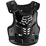 Fox Racing Proframe LC Youth Boys Roost Deflector MotoX Motorcycle Body Armor - Black/One Size