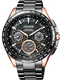 CITIZEN Men's Watches ATTESA Eco-Drive GPS satellite radio clock F900 double direct flight needle display type CC9016-51E Men