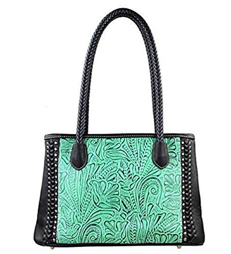 tr25-8394-montana-west-trinity-ranch-tooled-design-collection-handbag-black
