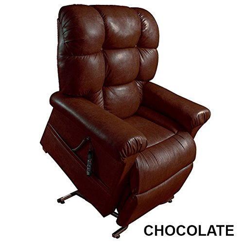 Perfect Sleep Chair Lift Chair & Medical Recliner - Duralux Leather - Chocolate by Perfect Sleep Chair