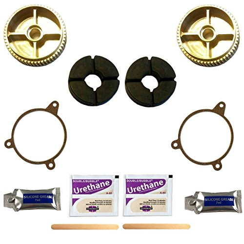 C5 Corvette Headlight Bronze Gear Fixes Head Light Motor with Failed Nylon Gear Includes 2 Gears for Both Motors Fits: All 97 through 04 - Kit Body C5 Complete