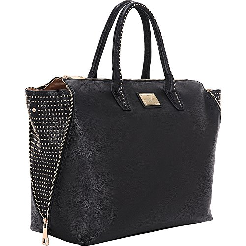 "Sandy Lisa Milan Wing Tote 15.6"" Black Sandy Lisa 23324644115 Slmil-wtbk-15"