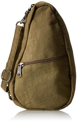 Healthy Back Bag Textured Nylon Baglett, Unisex Adults' Hobos and Shoulder Bag