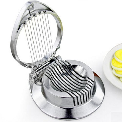 AUCH New/Durable Stainless Steel Commercial Egg Slicer/Mushroom Slicer/Garnish Slicer/Aluminum Cast Frame/Cutting Wires