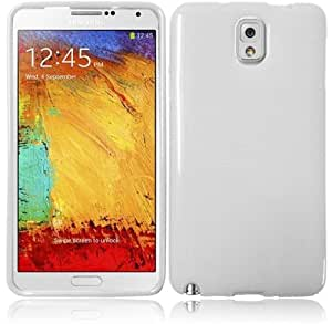 For Samsung Galaxy Note 3 Flexible TPU Cover Case (White)