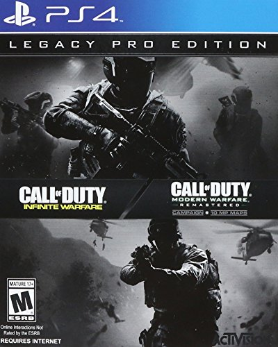 Call of Duty Infinite Warfare: Legacy Pro Edition [PlayStation 4, PS4 Collector Limited] (Call Of Duty Infinite Warfare Modern Warfare)