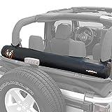 Rightline Gear 100J78-B Soft Top Window Storage Bag for Jeep Wrangler JK (2 & 4 door) TJ, LJ, YJ, CJ
