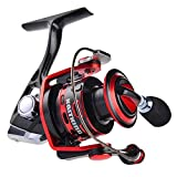KastKing® OrcasTM All Metal Spinning Reel - Smooth, Powerful Yet Light Weight - Carbon Fiber Drag System with All Aluminum Reel - [2016 Newly Release Sale] - ICAST Award Winning Brand (Orcas II 2000)