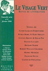 Le Visage vert, numéro 4 par Revue Le Visage Vert