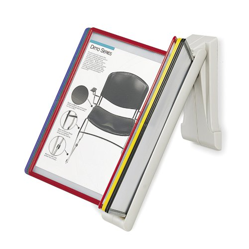 Safco Model QuickFind Document Holder-Wall Mount, Clear (6161) by Safco