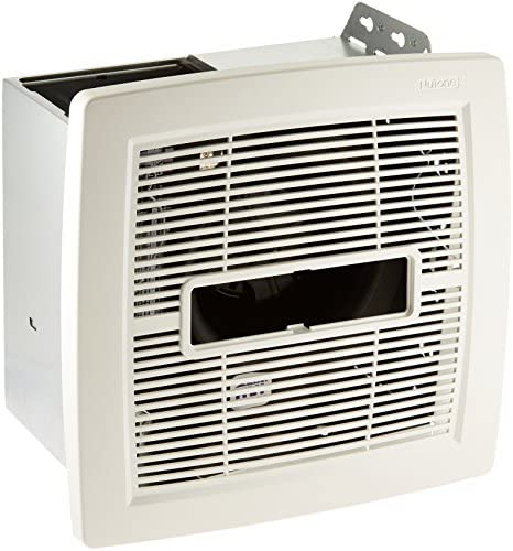 Broan-NuTone AEN80L AEN InVent Energy Star Certified Single-Speed Ventilation Fan with LED Light, 80 CFM 0.8 Sones, White