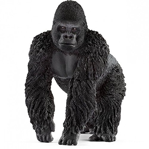 Schleich North America Gorilla, Male Toy Figure (King Toy Kong)