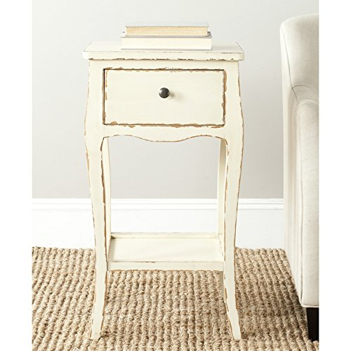 Safavieh American Homes Collection Thelma Vintage Cream End Table Review