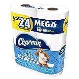 Charmin Papel Higiénico, Ultra Soft, 6 Mega Rollos