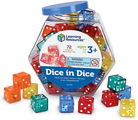 Learning Resources Dice Set product image