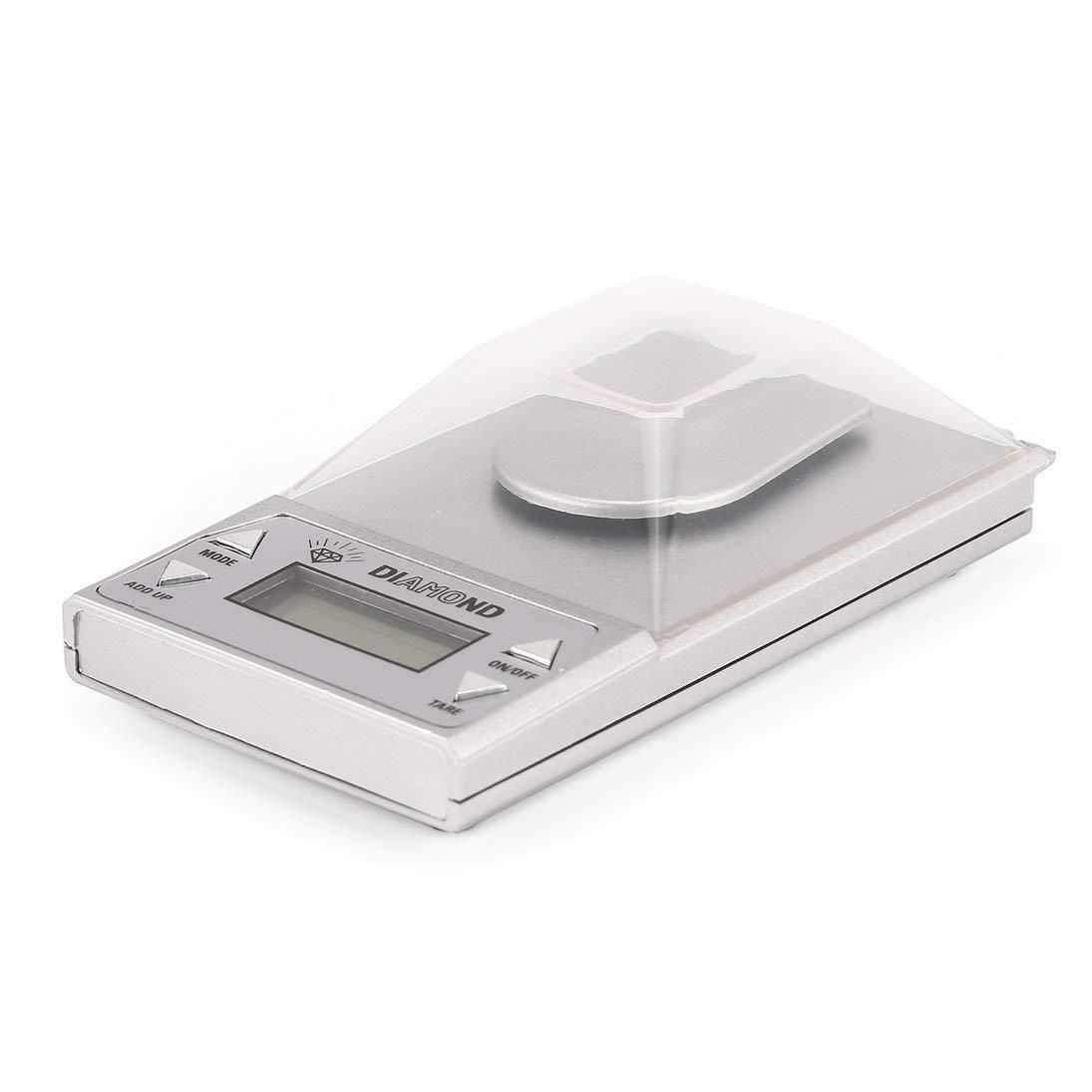 Báscula digital de alta precisión para joyería digital 50g x 0.001gLCD balanza dorada de laboratorio retroiluminación azul: Amazon.es: Salud y cuidado ...