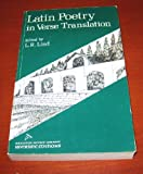 Latin Poetry in Verse Translation, L. R. Lind, 0395051185