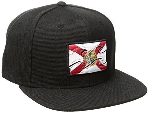 State Flag Flag Cap - Billabong Men's Native Hat Florida One Size