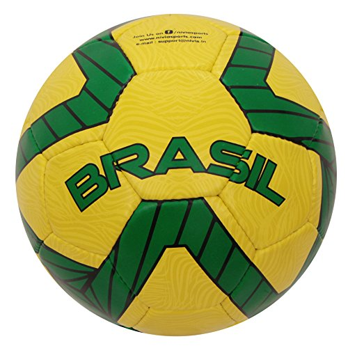 Nivia Kross World Country Color Rubber Football