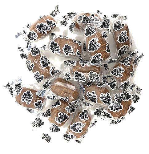 Barrels of Yum – A Gourmet Twist on Traditional Root Beer Barrels - Caramel Apple – Individually Wrapped Hard Candy – 2 LB -