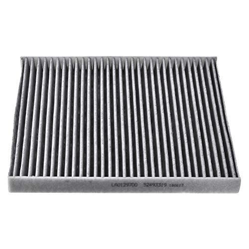 TOHUU 52493319 Cabin Air Filter For CHEVY COBALT HHR PONTIAC G5 PURSUIT SATURN ION With Activated Carbon (Carbon Pontiac G5)
