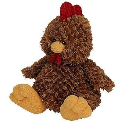 Ty Beanie Babies Clucky - Chicken (BBOM August 2006)