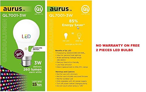 Buy wipro garnet 2w warm whiteyellow2700k color round spotlight buy wipro garnet 2w warm whiteyellow2700k color round spotlight bumper pack of 10 get free 2 pieces ql 3 watt led bis approved led bulb bulbs online fandeluxe Choice Image