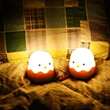Qwifyu Kids Night Light, Cute Creative Egg Shell