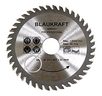 Lame de scie pour MEULEUSE 115mm pour bois Disques de coupe circulaire  115x22x40T 656a6c088b39