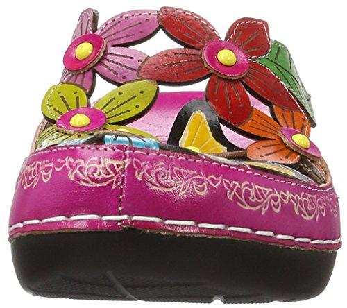 Laura Vita Billy 11, Zuecos para Mujer Pink (FUSHIA)
