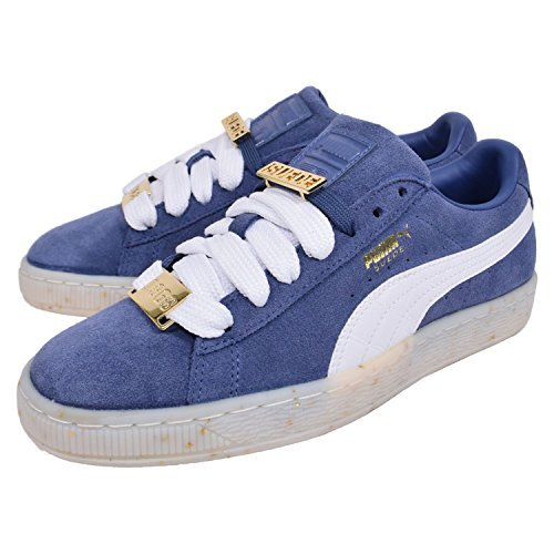 Puma Suede Classic Bboy Fab Wn 903 Unisex Sneakers (White/Blue)