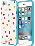 img - for Kate Spade Hybrid Hardshell Case for iPhone 6 Plus & 6s Plus - Ikat Dot book / textbook / text book