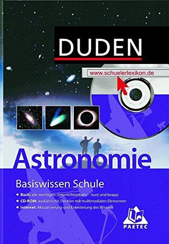 Duden Basiswissen Schule, m. CD-ROM, Astronomie