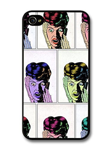 Pulp Comic Book Young Romance Woman 60s Pattern case for iPhone 4 4S