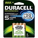 Duracell Pre Charged Rechargable Batteries Aaa 800 Mah Nimh Digital Cameras: Card Of 4