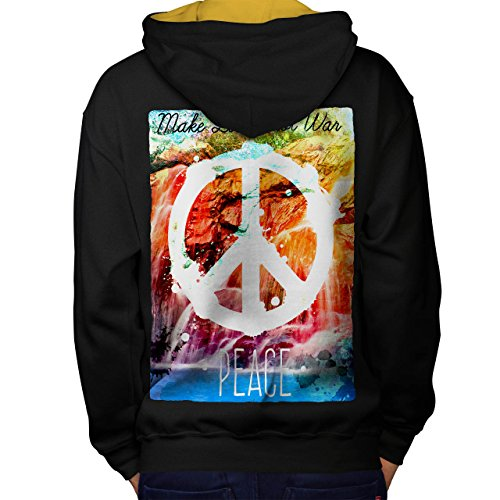make love not war hoodie - 7